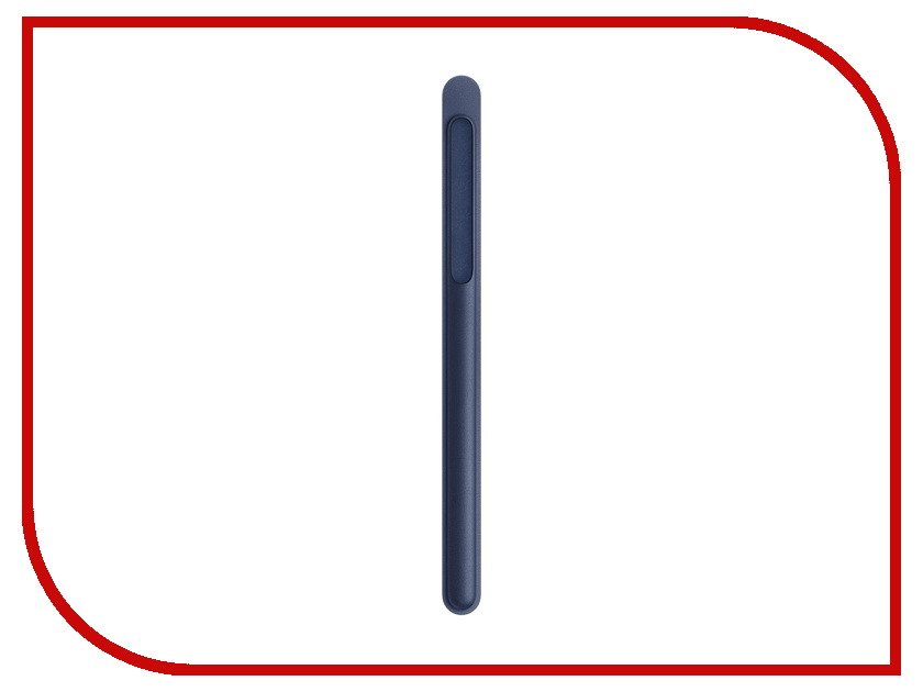 Аксессуар Чехол для стилуса APPLE Pencil Midnight Blue MQ0W2ZM/A apple pencil case midnight blue
