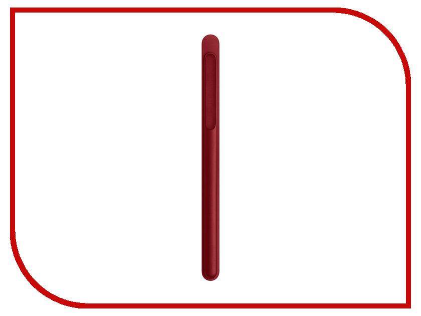 Аксессуар Чехол для стилуса APPLE Pencil Red MR552ZM/A футляр для картриджей 2 стилуса для приставки ds lite красно белый