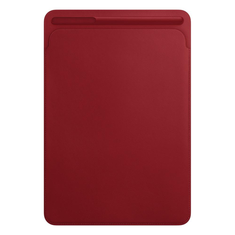 Аксессуар Чехол для APPLE iPad Pro 10.5 Leather Sleeve Red MR5L2ZM/A аксессуар чехол apple ipad pro 12 9 leather sleeve midnight blue mq0t2zm a