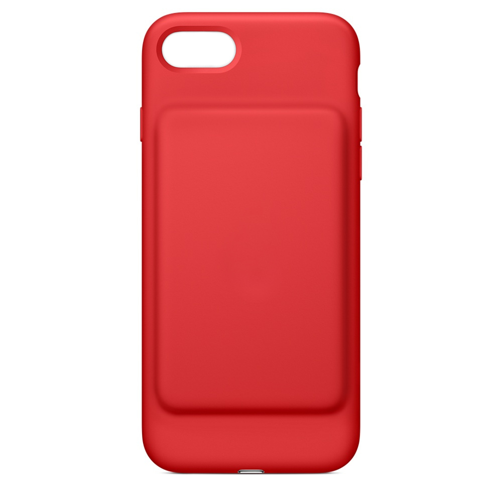 Чехол-аккумулятор для APPLE iPhone 7 Smart Battery Case Red MN022ZM/A