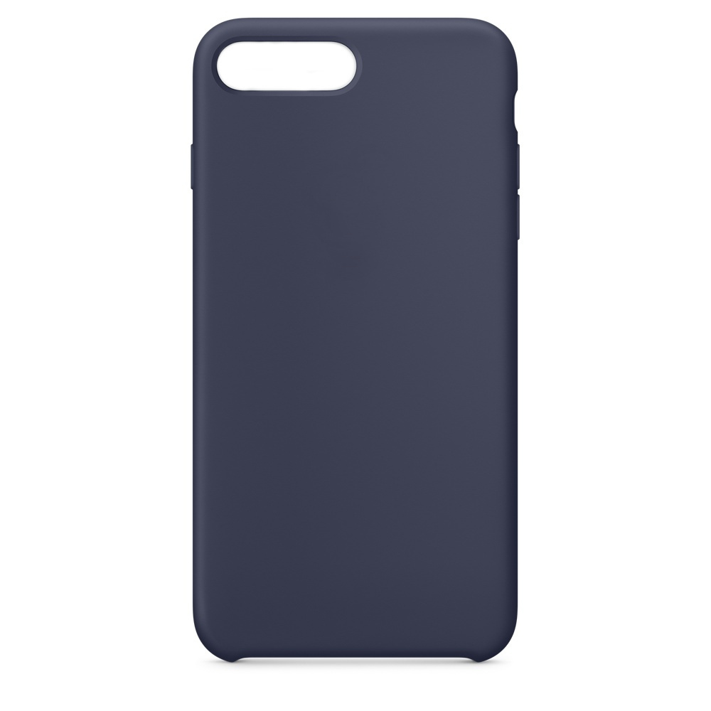 Аксессуар Чехол APPLE iPhone 8 Plus / 7 Plus Silicone Case Midnight Blue MQGY2ZM/A цена
