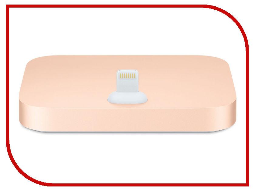 Аксессуар Док-станция Apple iPhone Lightning Dock MQHX2ZM/A Gold док станция для iphone apple iphone lightning dock gold mqhx2zm a