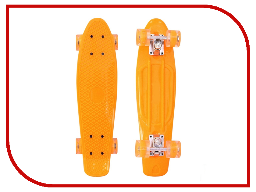 Скейт RT Penny Board Classic 26 YWHJ-28 68x19 Orange 171207 rear wheel hub for mazda 3 bk 2003 2008 bbm2 26 15xa bbm2 26 15xb bp4k 26 15xa bp4k 26 15xb bp4k 26 15xc bp4k 26 15xd