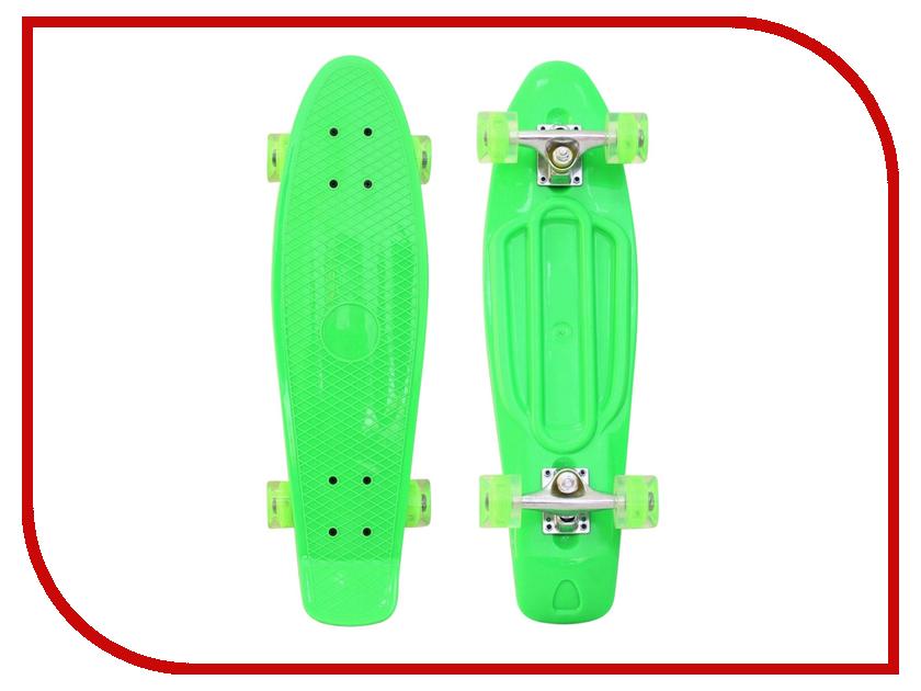 Скейт RT Penny Board Classic 26 YWHJ-28 68x19 Green 171206 rear wheel hub for mazda 3 bk 2003 2008 bbm2 26 15xa bbm2 26 15xb bp4k 26 15xa bp4k 26 15xb bp4k 26 15xc bp4k 26 15xd