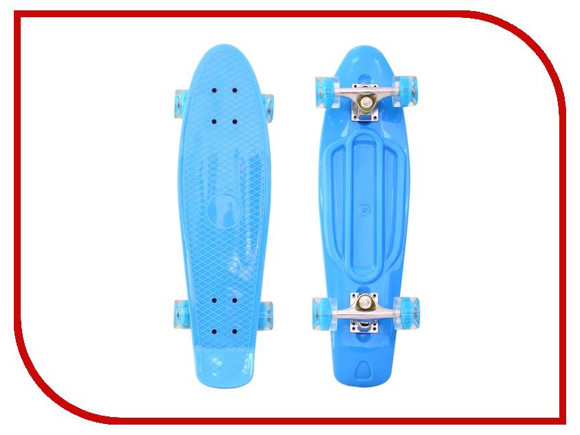 Скейт RT Penny Board Classic 26 YWHJ-28 68x19 Light Blue 171205 rear wheel hub for mazda 3 bk 2003 2008 bbm2 26 15xa bbm2 26 15xb bp4k 26 15xa bp4k 26 15xb bp4k 26 15xc bp4k 26 15xd