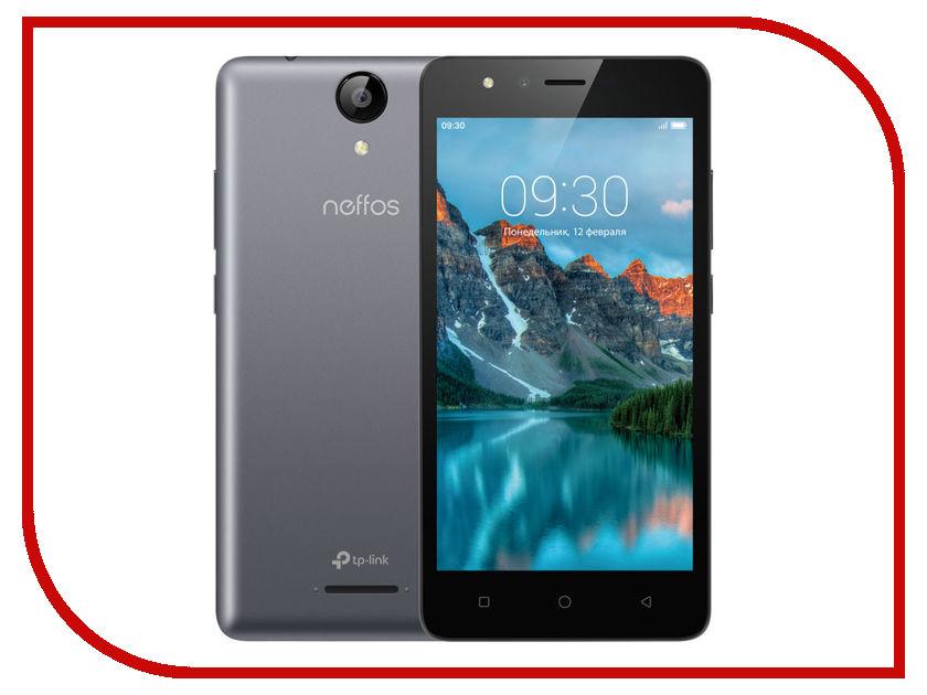 Сотовый телефон Neffos C5A Dark Grey TP703A21RU сотовый телефон archos 55 cobalt plus dark grey