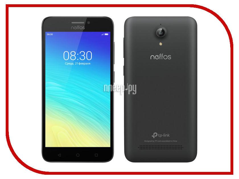 Сотовый телефон Neffos Y5s Dark Grey TP804A24RU сотовый телефон neffos c5 pearl white nef tp701a14ru