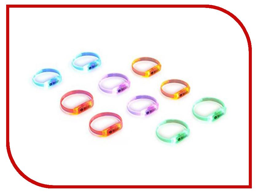 Светящиеся браслеты Hercules LED Wristbands 10шт 4780878 светящиеся палочки браслеты смехторг 100 штук