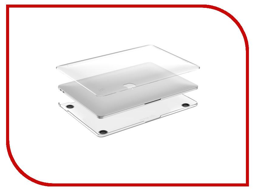 Аксессуар Чехол 13.0 Speck SmartShell для APPLE MacBook Pro 13 Transparent 90206-1212 аксессуар чехол 15 0 speck smartshell для apple macbook pro 2016 15 with touch bar pink
