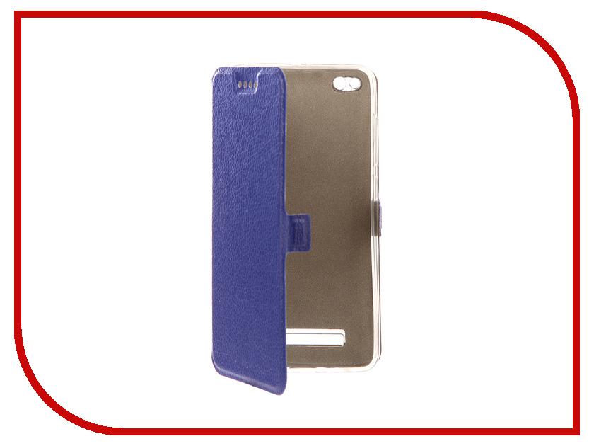 Аксессуар Чехол Xiaomi Redmi 4A Zibelino Sottile Silicon Dark Blue ZSS-XIA-4A-DBLU аксессуар чехол huawei nova zibelino classico black zcl hua nov blk