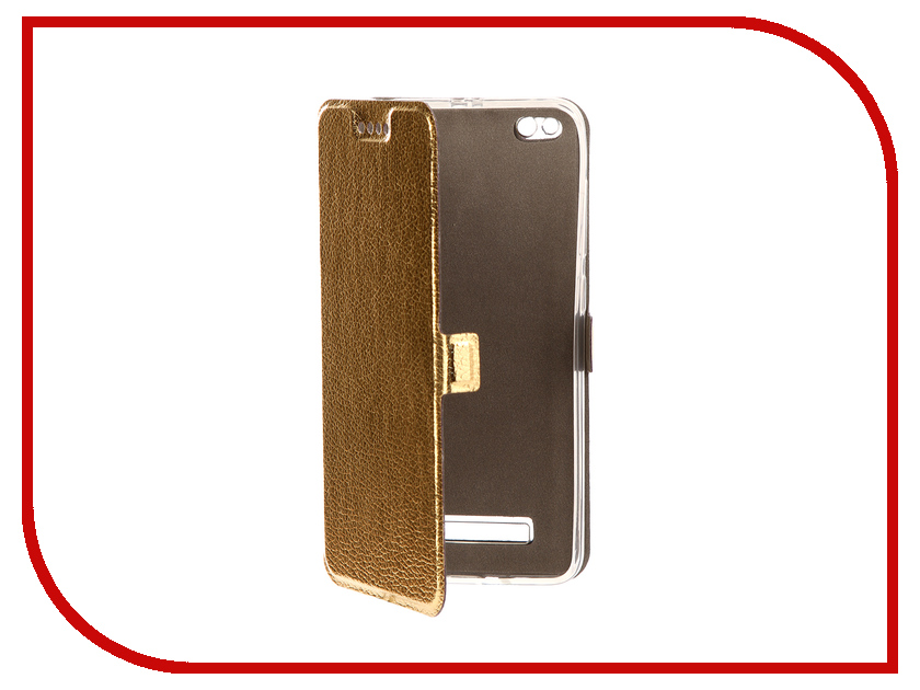 Аксессуар Чехол Xiaomi Redmi 4A Zibelino Sottile Silicon Gold ZSSXIA4AGLD