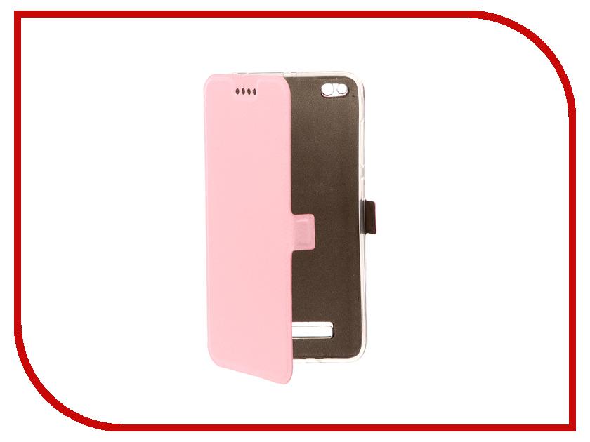 Аксессуар Чехол Xiaomi Redmi 4A Zibelino Sottile Silicon Pink ZSS-XIA-4A-PNK аксессуар чехол huawei nova zibelino classico black zcl hua nov blk