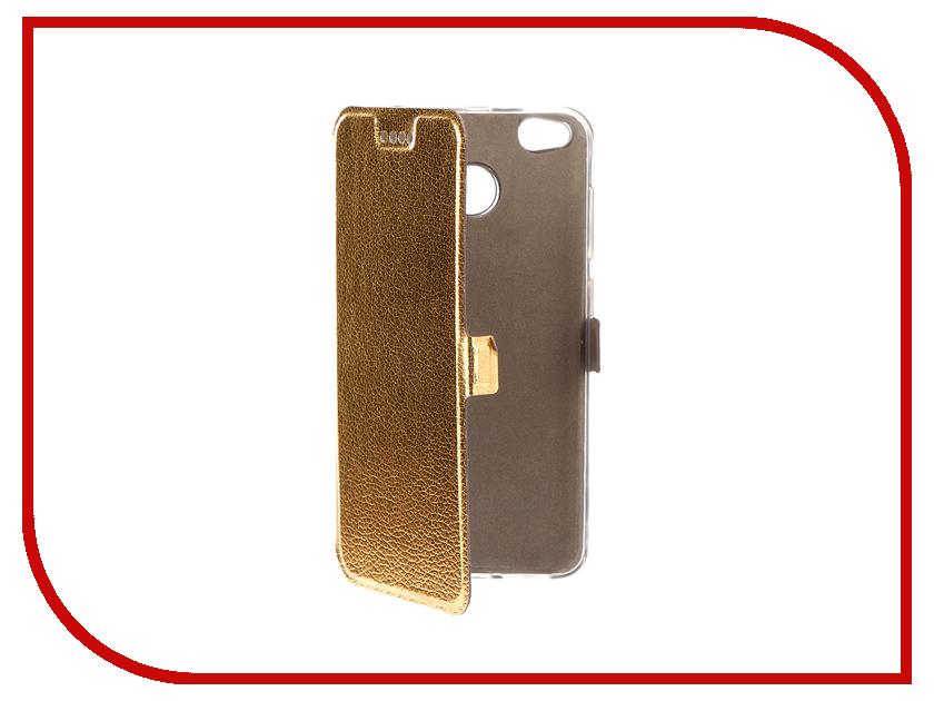 Аксессуар Чехол Xiaomi Redmi 4X Zibelino Sottile Silicon Gold ZSS-XIA-4X-GLD аксессуар чехол xiaomi redmi 4x zibelino classico black zcl xia rdm 4x blk