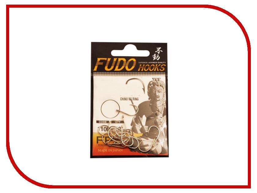 Крючки Fudo Chinu W/Ring №1 NK 1100 11шт 1100-NK-1