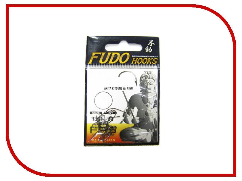 Крючки Fudo Akita Kitsune W/Ring №16 NK 3300 21шт 3300-NK-16