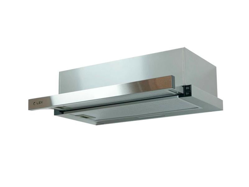 Кухонная вытяжка LEX Hubble 600 Inox