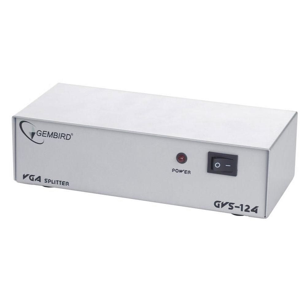 Аксессуар Gembird Cablexpert Разветвитель VGA HD15F/4x15F GVS124