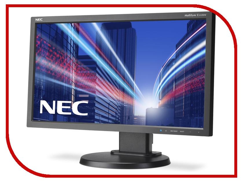 Монитор NEC E233WM-BK Black монитор nec e224wi bk