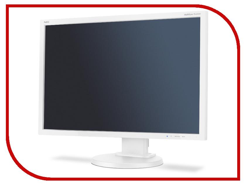 Монитор NEC E245WMi Silver-White монитор nec multisync ea234wmi white