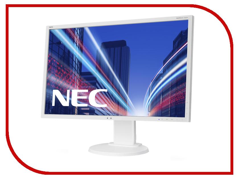 Монитор NEC E223W Silver-White монитор nec e223w black