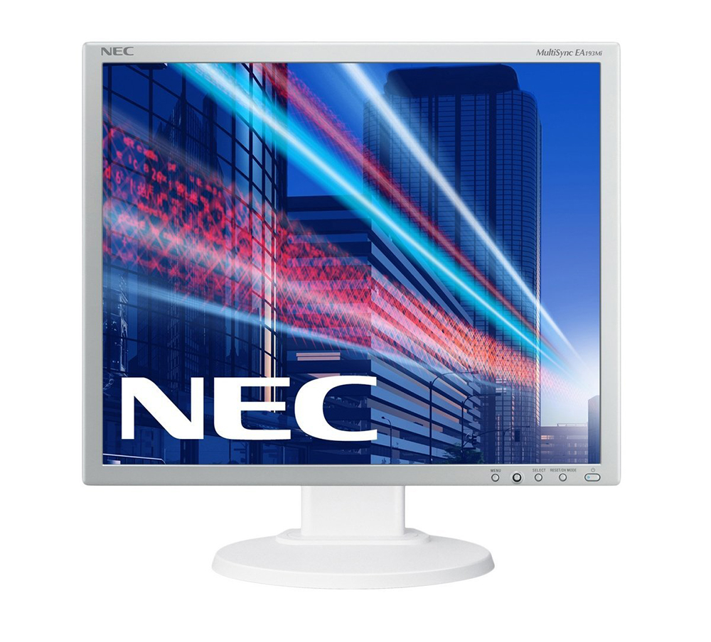 Монитор NEC EA193Mi Silver-White