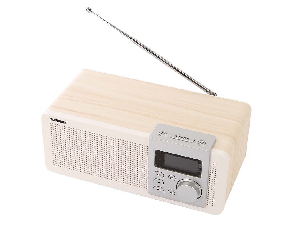 Радиоприемник Telefunken TF-1583UB Light Wood