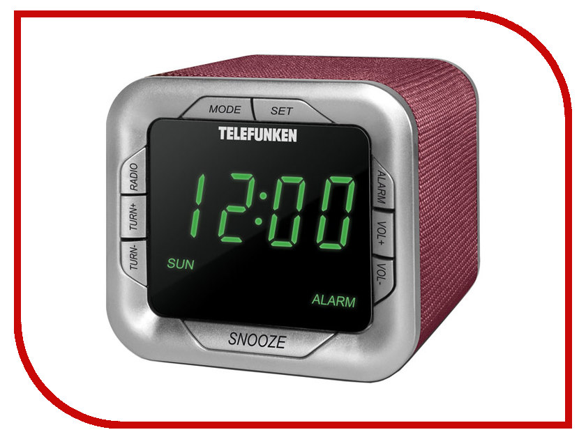 цена на Часы Telefunken TF-1505 Bordeaux-Green