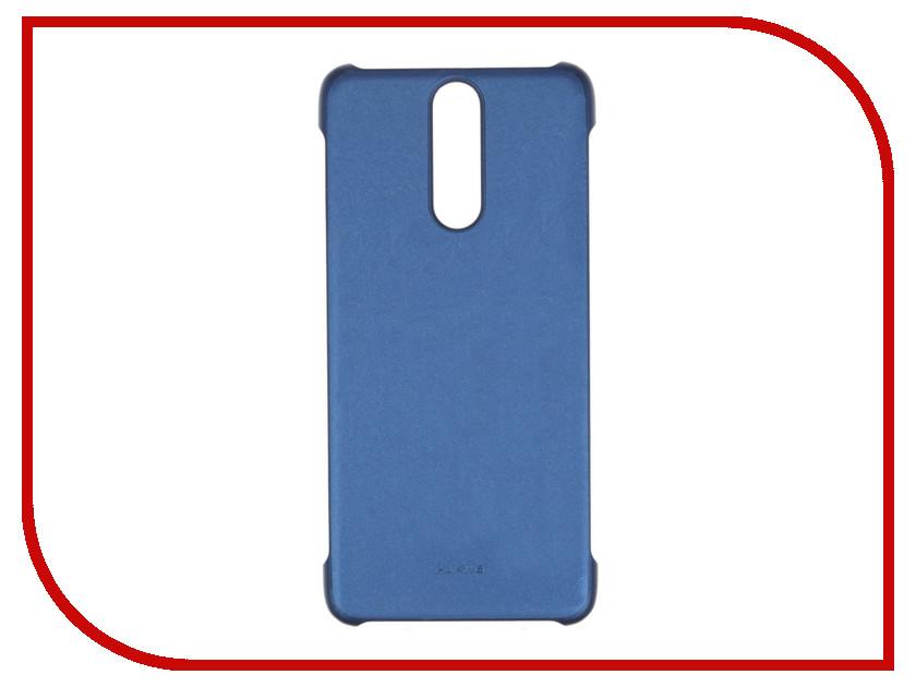 Аксессуар Чехол Huawei Nova 2I Leather Blue 51992213 аксессуар чехол huawei nova zibelino classico black zcl hua nov blk