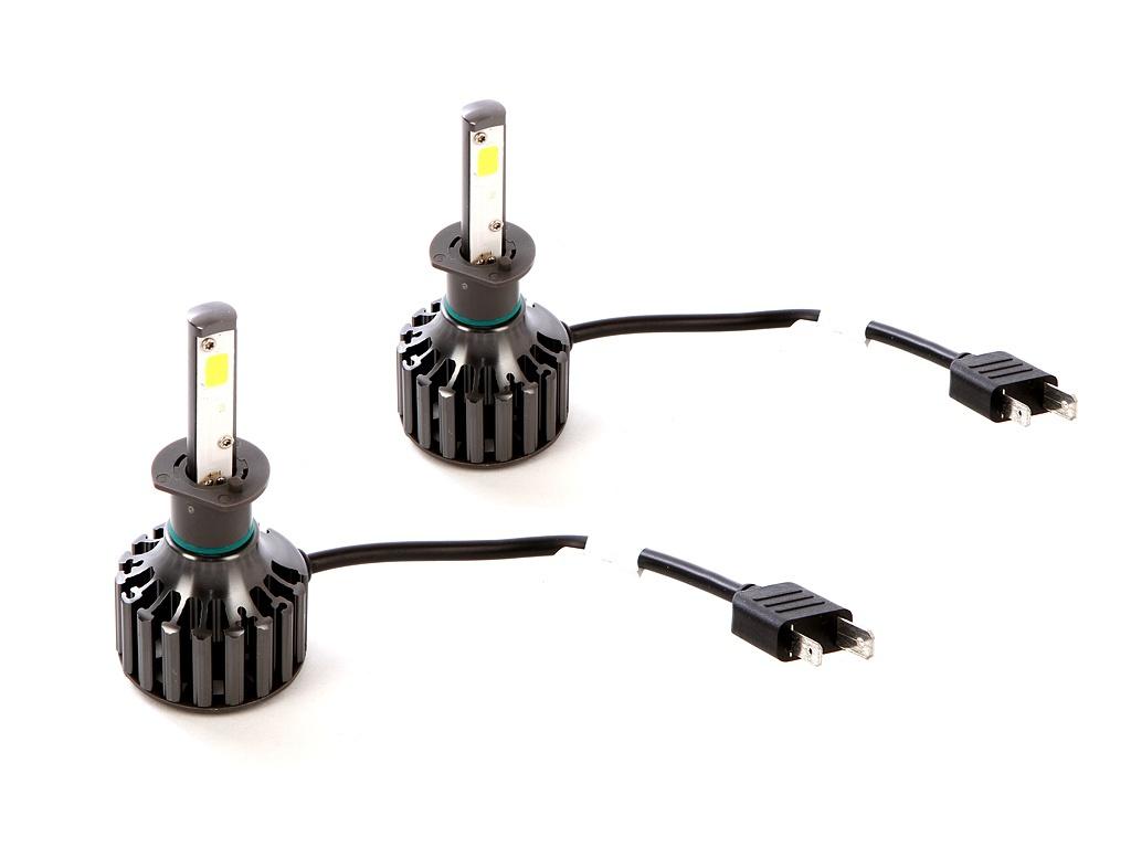 Лампа C2R B6-H1 high quality h1 led bulbs h1 led auto lights h1 led fog lamp free shipping 2pcs lot