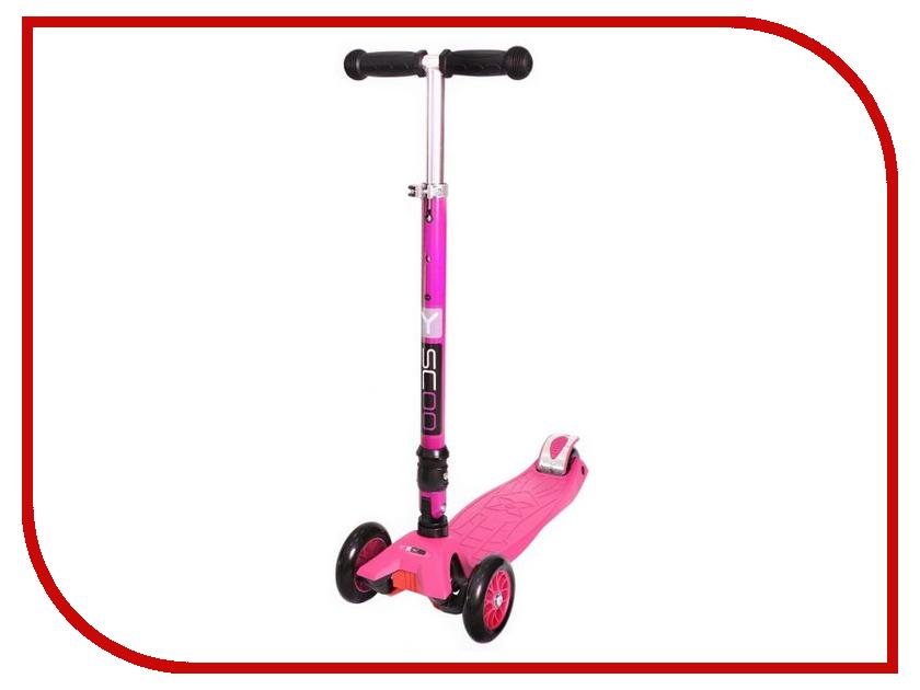 Самокат Y-SCOO Maxi Fix Simple 35 Pink