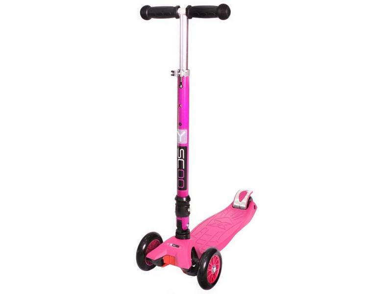 Самокат Y-Scoo Maxi Fix Simple 35 Pink степлер ручной rapid m20r fun to fix 23600800