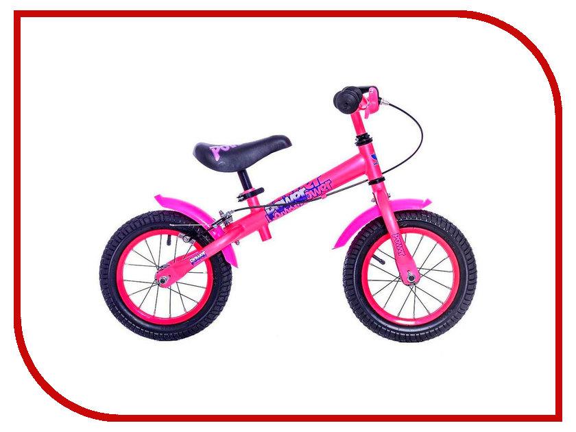 Беговел VELOLIDER Power 12 Pink велосипед velolider rush army 18 ra18 хаки