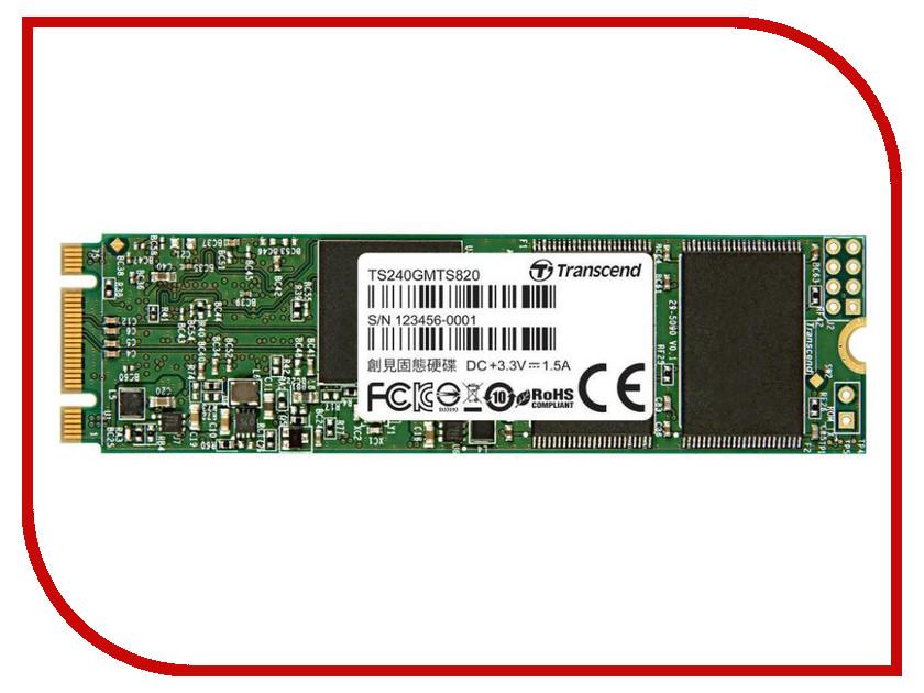 Жесткий диск Твердотельный накопитель Transcend TS240GMTS820S