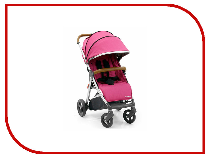 Коляска BabyStyle Oyster Zero Wow Pink коляска oyster прогулочная коляска oyster zero wow pink
