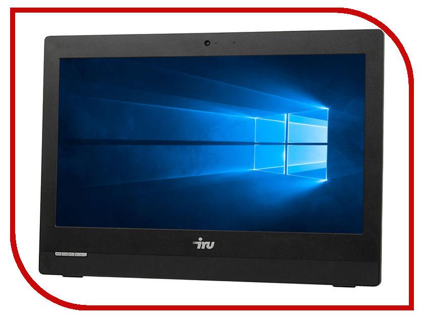 Моноблок iRU Office S1910 Black (Intel Celeron N3160 1.6 GHz/4096Mb/500Gb/Intel HD Graphics 400/GbitEth/Wi-Fi/Bluetooth/Cam/19.5/1600x900/Windows 10)