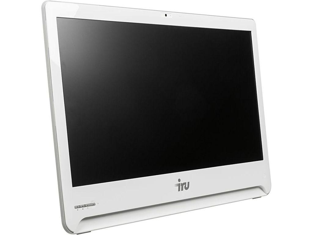 цена Моноблок iRU Office S2301 White (Intel Core i5-5200U 2.2 GHz/4096Mb/1000Gb/DVD-RW/Intel HD Graphics 5500/GbitEth/Wi-Fi/Cam/23.6/1920x1080/DOS)