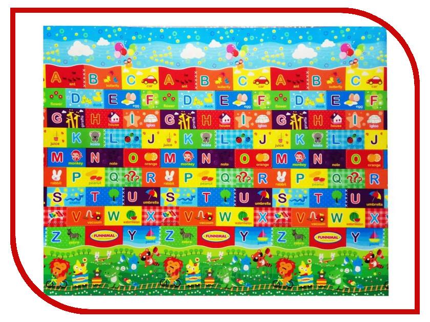 Развивающий коврик Yurim Алфавит 200x150x1cm 610093 развивающий коврик экопромторг русский алфавит 25мпд2 р