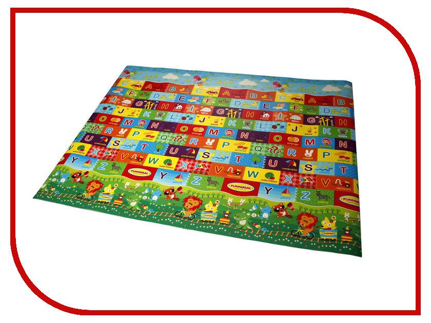 Развивающий коврик Yurim Алфавит 150x100x0.5cm 605092 развивающий коврик экопромторг русский алфавит 25мпд2 р