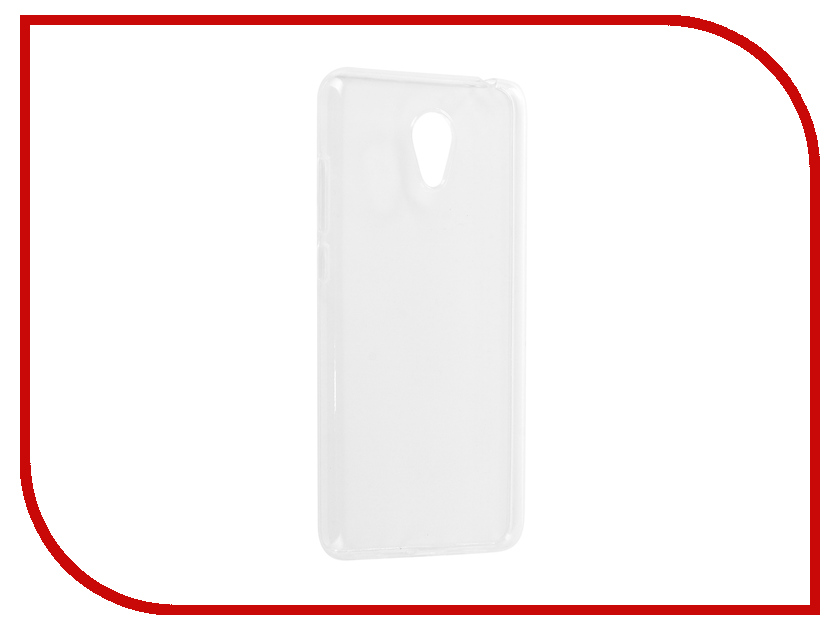 Аксессуар Чехол для Meizu M6 iBox Crystal Silicone Transparent аксессуар чехол для samsung galaxy a6 plus ibox crystal silicone transparent