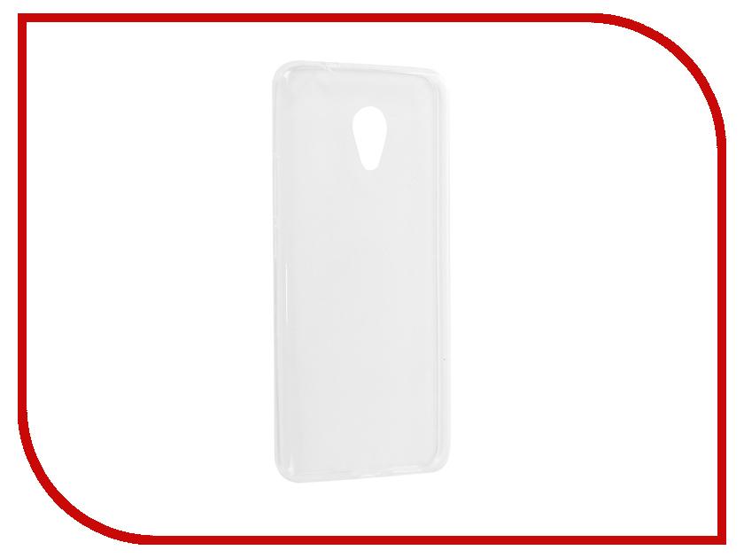 Аксессуар Чехол для Meizu M5S iBox Crystal Silicone Transparent аксессуар чехол для samsung galaxy a6 plus ibox crystal silicone transparent