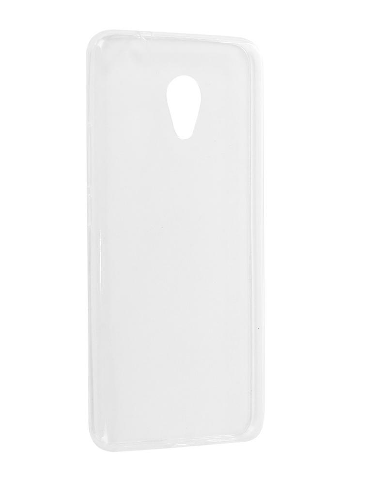 Аксессуар Чехол iBox Crystal для Meizu M5S Silicone Transparent
