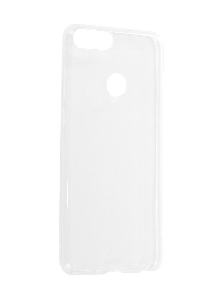 Аксессуар Чехол iBox для Huawei P Smart/Enjoy 7S Crystal Silicone Transparent аксессуар чехол для huawei p20 pro ibox crystal silicone transparent
