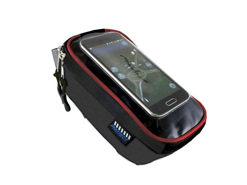 Велосумка Protect Black-Red 555-538