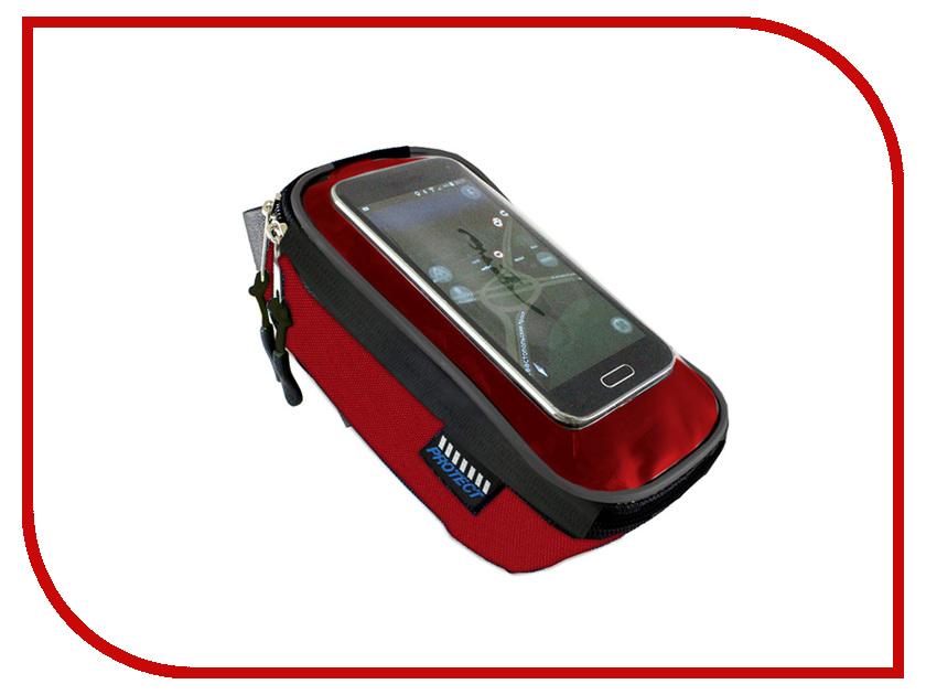 Велосумка Protect Black-Red 555-539