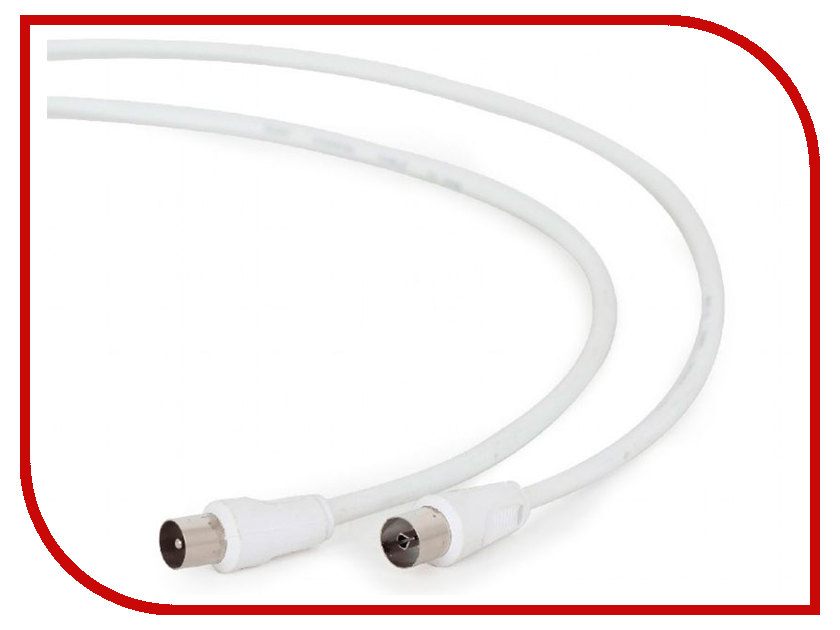 Кабель телевизионный Gembird Cablexpert F/M 5m White CCV-515-W-5M 20m 15m 10m 5m usb2 0 male to female active repeater extension extender cable cord m f aqjg
