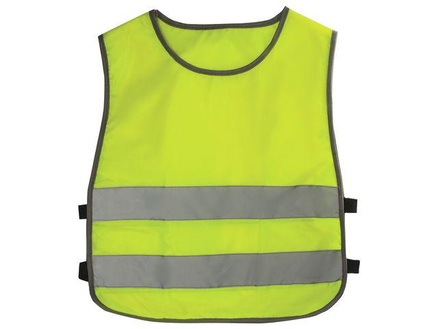 Жилет светоотражающий детский 26-30 92-116 2-6лет Lemon 40157
