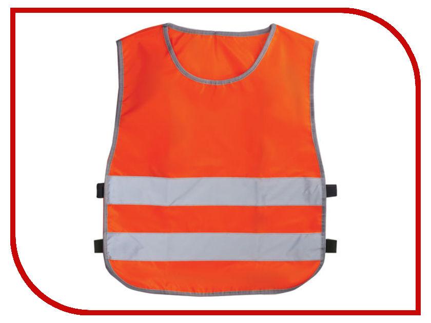 Жилет Светоотражающий детский 30-34 122-140 7-10лет Orange 40188