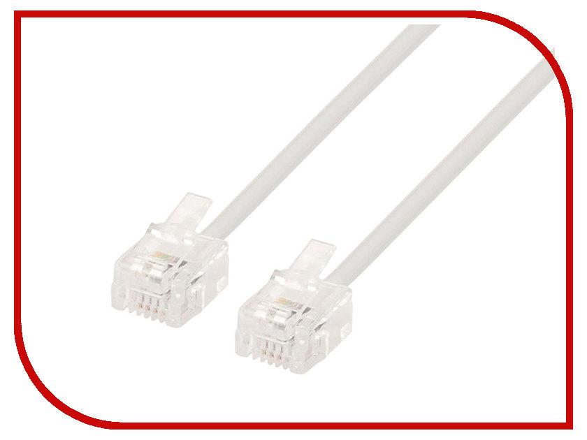 Сетевой кабель Gembird TC6P4C-2M 2m White