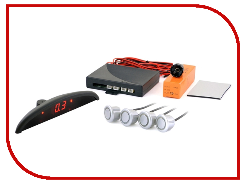 Парктроник SVS LED-092 Silver кастрюля supra svs 2491c