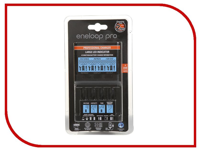 Зарядное устройство Panasonic Advanced BQ-CC65E 87888 универсальное зарядное устройство panasonic eneloop pro2550